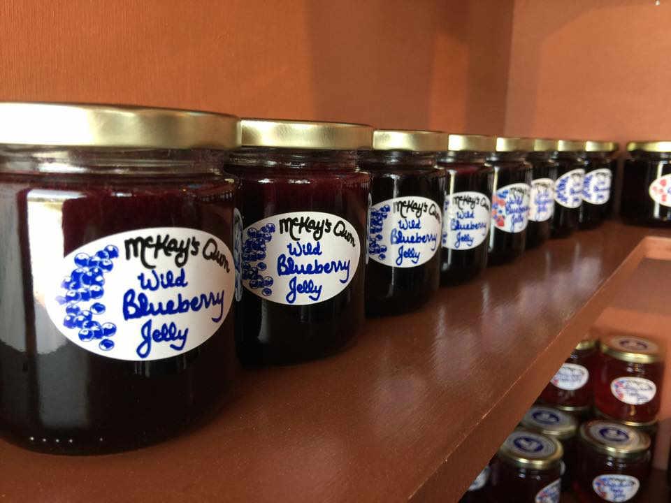 Fruits bleuets boulangerie alimentation McKay's Wild Blueberries Pennfield Nouveau-Brunswick Ulocal produit local achat local