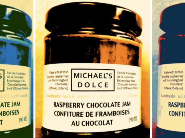 Alimentation confitures Michealsdolce Ottawa Ontario Canada Ulocal produit local achat local