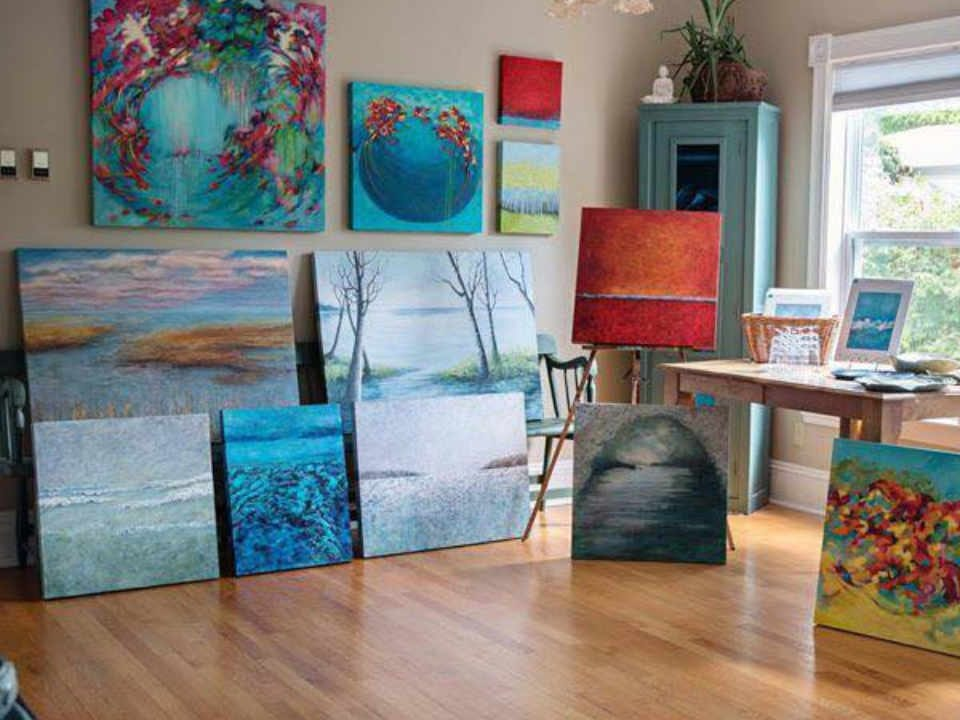 Artisan painting interior decoration Moss Studio Art Rothesay New Brunswick Ulocal local product local purchase