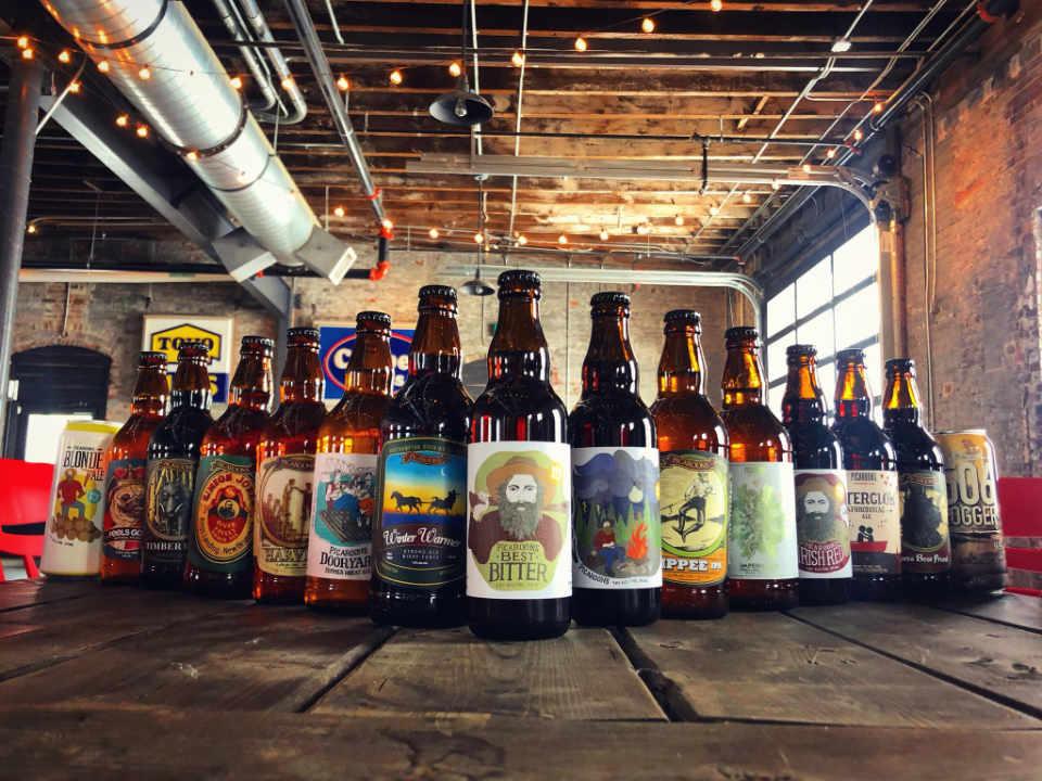 Microbrasserie bières artisanales et biologiques Picaroons Traditional Ales Saint John Nouveau-Brunswick Ulocal produit local achat local