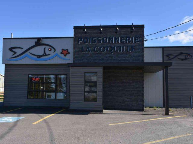 Poissonnerie alimentation Poissonnerie La Coquille Caplan Québec Canada Ulocal produit du terroir produit local achat local