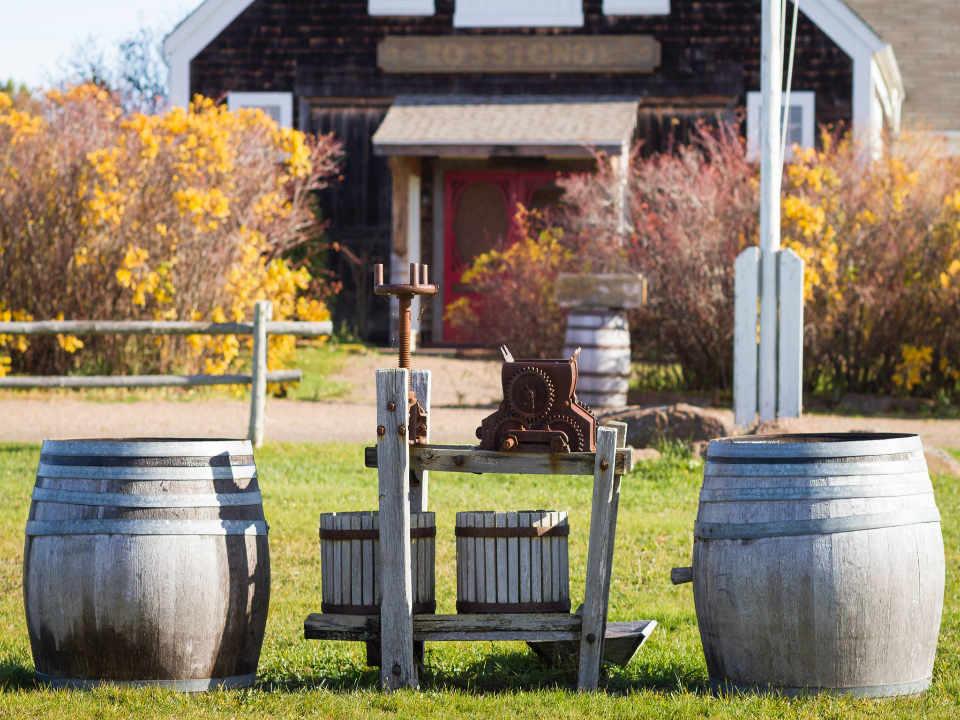 Vignoble Rossignol Winery Murray River Prince Edward Island Canada Ulocal produit local achat local produit terroir