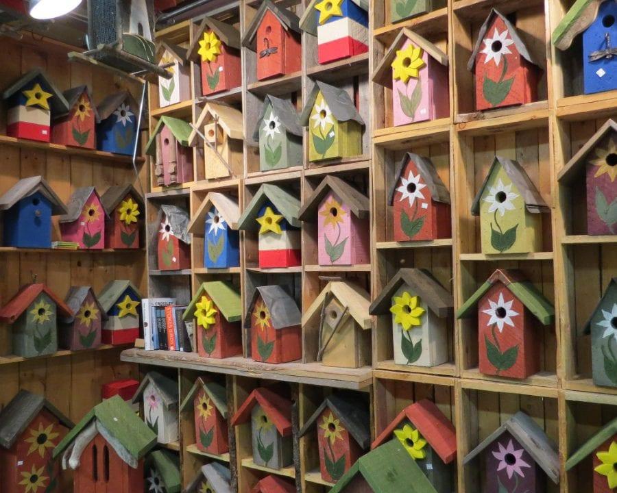 Boutique artisans mangeoire à oiseau The Bird Garden Hillsborough Nouveau-Brunswick Ulocal produit local achat local