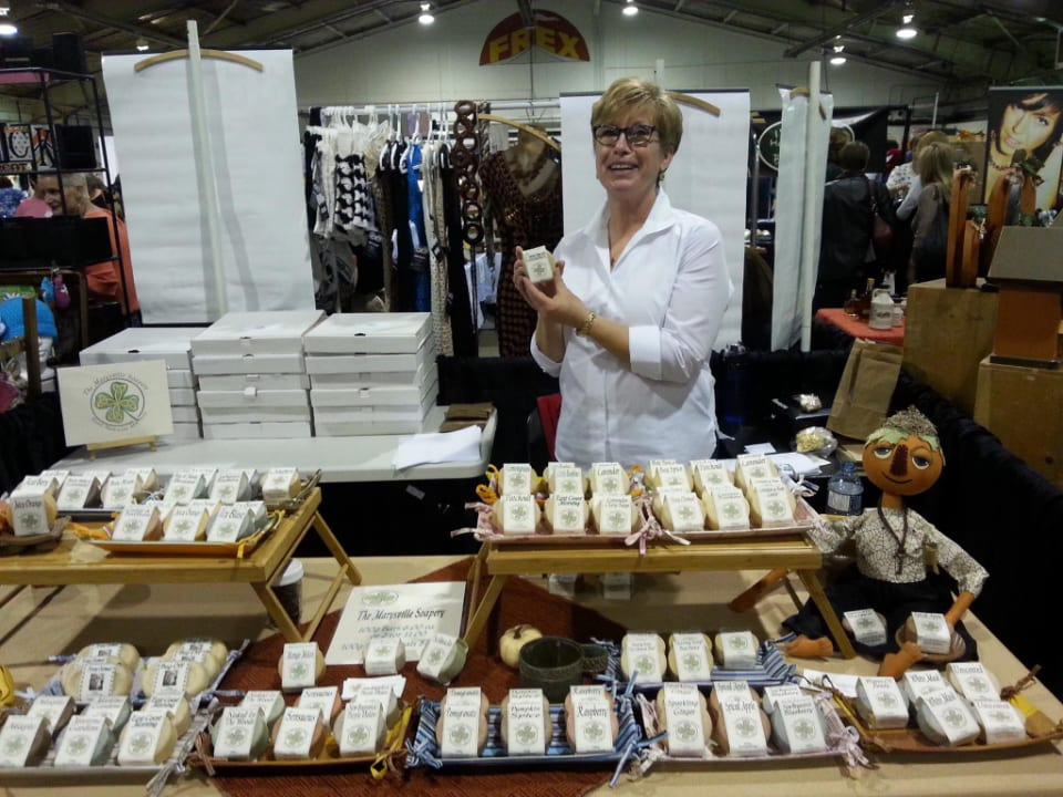 Cosmetics soaps goat's milk The Marysville Soapery Fredericton New Brunswick Ulocal local product local purchase