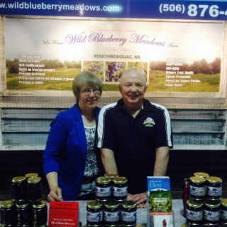 Fruits bleuets Wild Blueberry Meadows Kouchibouguac New Brunswick Ulocal produit local achat local
