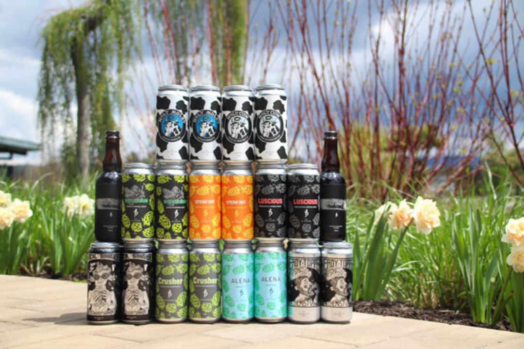 Microbrasserie Canettes de bière The Alchemist Brewery Stowe Vermont États-Unis Ulocal produit local achat local