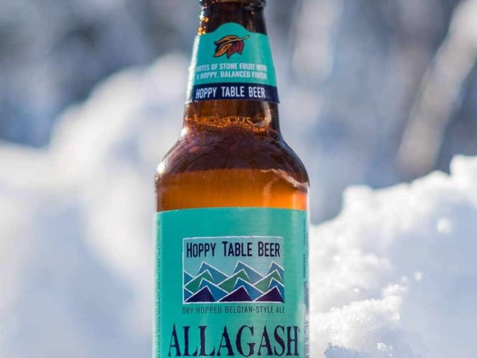 Microbrewery Beer bottle Allagash Brewing Company Portland Maine United States Ulocal Local Product Local Purchase