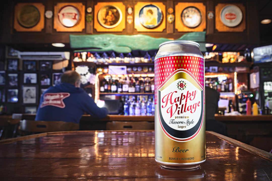 Microbrasserie canettes de bière Bunker Brewing Company Portland Maine États-Unis Ulocal produit local achat local