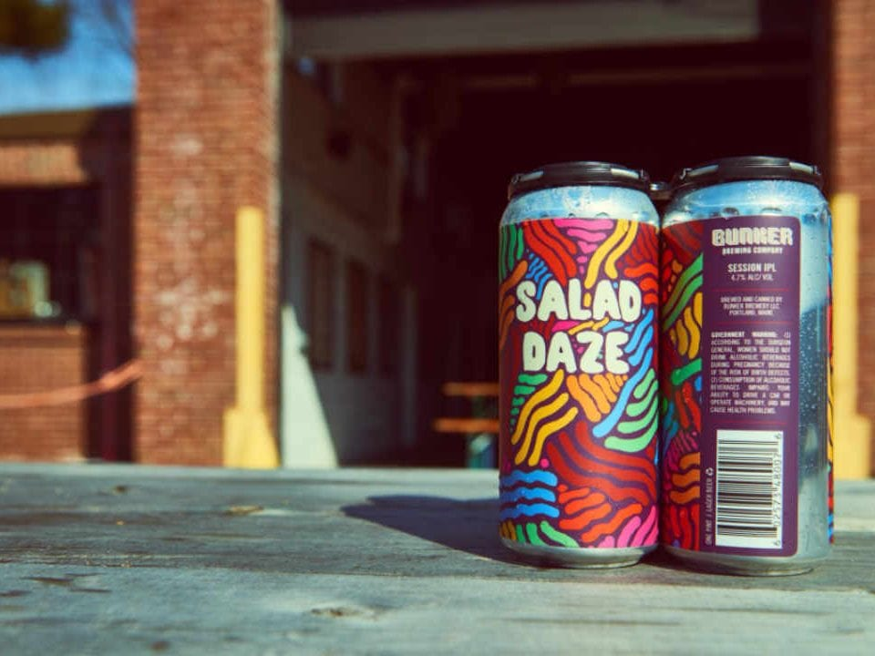 Microbrewery Beer Cans Bunker Brewing Company Portland Maine United States Ulocal Local Product Local Purchase