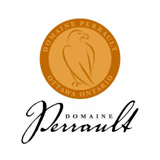 Vineyard logo Domaine Perrault Winery Ottawa Ontario Canada Ulocal local product local purchase