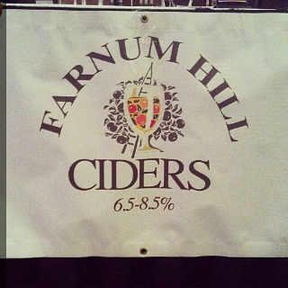 Alcool logo Farnum Hill Cider Lebanon New Hampshire États-Unis Ulocal produit local achat local