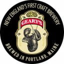 Microbrewery logo Geary Brewing Company Portland Maine United States Ulocal Local Product Local Purchase