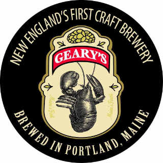 Microbrasserie logo Geary Brewing Company Portland Maine États-Unis Ulocal produit local achat local