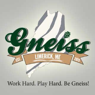 Microbrasserie logo Gneiss Brewing Company Limerick Maine États-Unis Ulocal produit local achat local