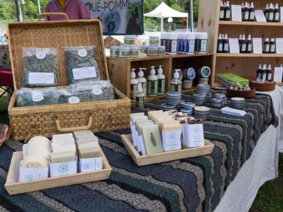 Public Market body care products Marché Wakefield Market Wakefield Quebec Canada Ulocal local product local purchase