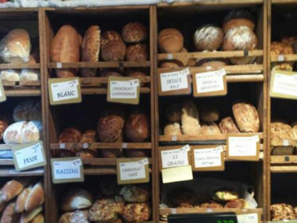 Public Market bread Marché Wakefield Market Wakefield Quebec Canada Ulocal local product local purchase