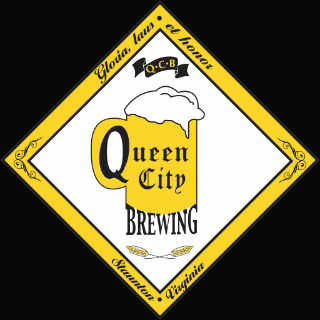 Microbrewery logo Queen City Brewing Staunton Virginia United States Ulocal local product local purchase
