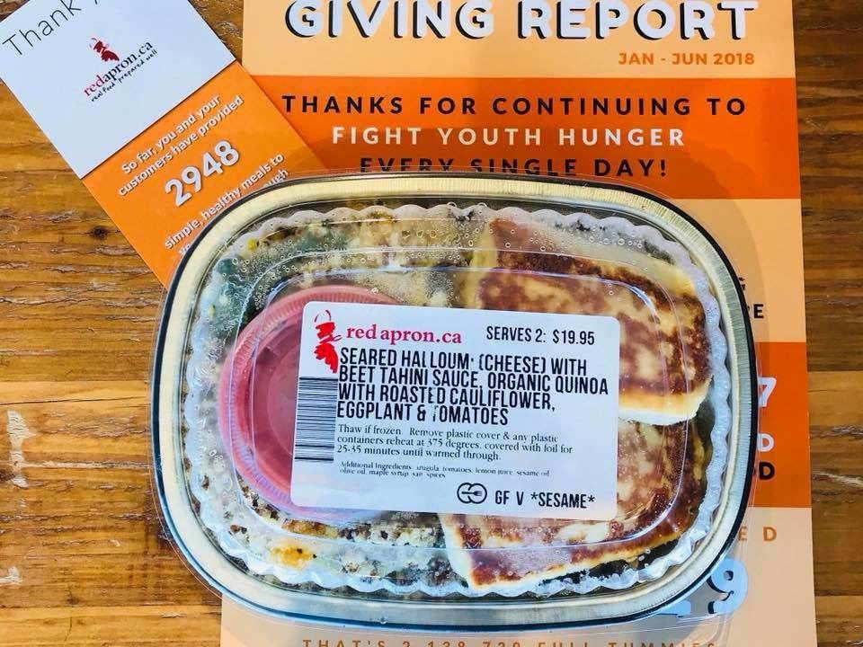Boutique d'aliments mets préparés The Red Apron Ottawa Ontario Canada Ulocal produit local achat local