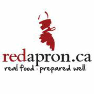 Boutique d'aliments logo The Red Apron Ottawa Ontario Canada Ulocal produit local achat local