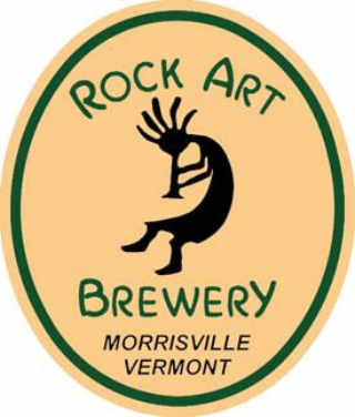 Microbrasserie logo Rock Art Brewery Morristown Vermont États-Unis Ulocal produit local achat local