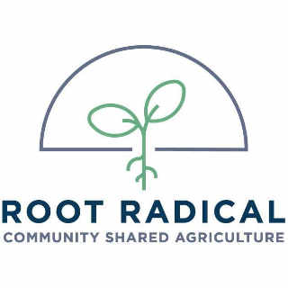 Fermier de famille logo Root Radical CSA Gananoque Ontario Canada Ulocal produit local achat local