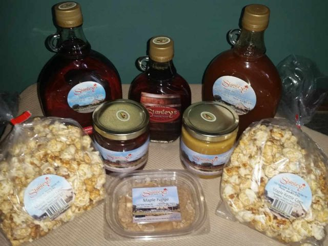 Sugar shack maple products Stanley's Olde Maple Lane Farm Edwards Ontario Canada Ulocal Local Product Local Purchase