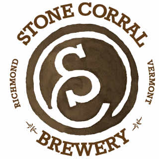 Microbrasserie logo Stone Corral Brewery Richmond Vermont États-Unis Ulocal produit local achat local