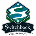 Microbrasserie logo Switchback Brewing Co Burlington Vermont États-Unis Ulocal produit local achat local