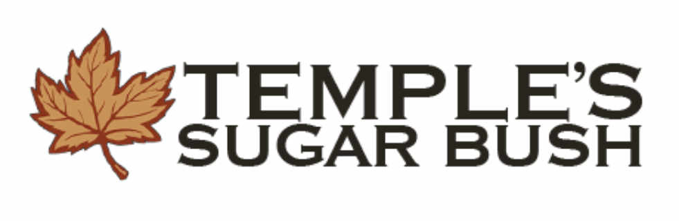 Cabane à sucre logo Temple's Sugar Bush Lanark Ontario Canada Ulocal produit local achat local
