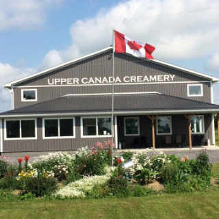 Fromagerie magasin Upper Canada Creamery Iroquois Ontario Canada Ulocal produit local achat local