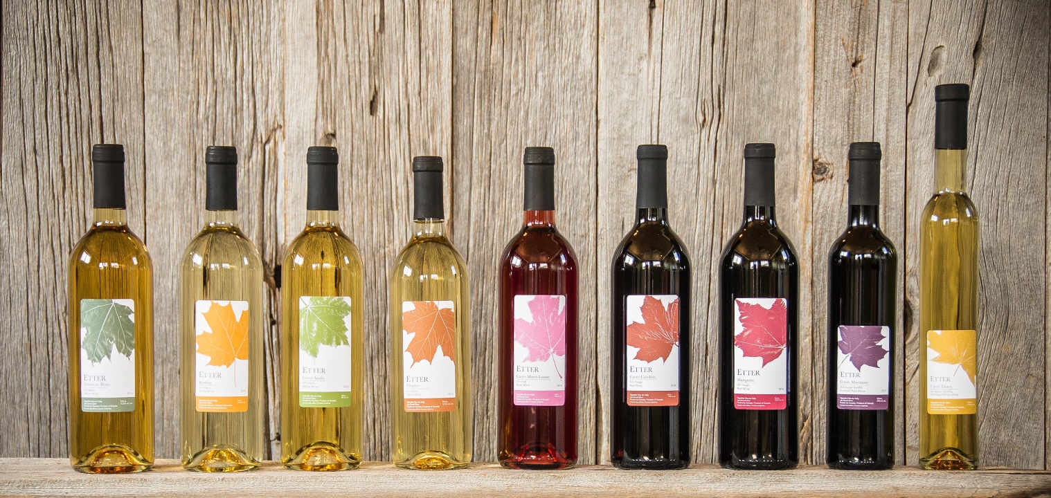 Vignoble bouteilles de vin Vignoble Clos du Vully Navan Ontario Canada Ulocal produit local achat local