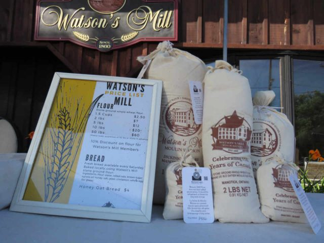Food flour Watson's Mill Manotick Ontario Canada Ulocal Local Product Local Purchase