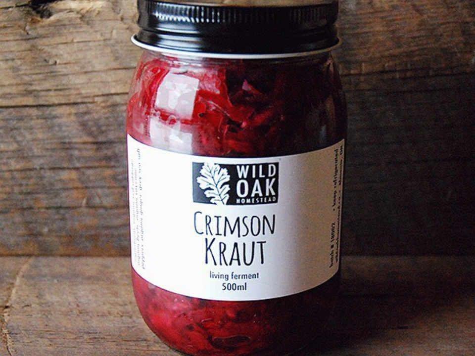 Marché de fruits et légumes choucroute Wild Oak Homestead Almonte Ontario Canada Ulocal produit local achat local
