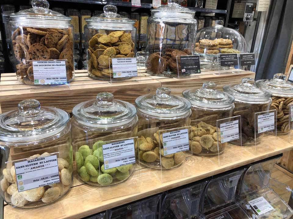 Épicerie vrac bio Au Gramme Près - Epicerie Bio sans emballage Roquebrune-Cap-Martin France Ulocal produit local achat local