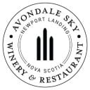 vineyard logo avondale sky winery and restaurant Newport nova scotia canada ulocal local products local purchase local produce locavore tourist