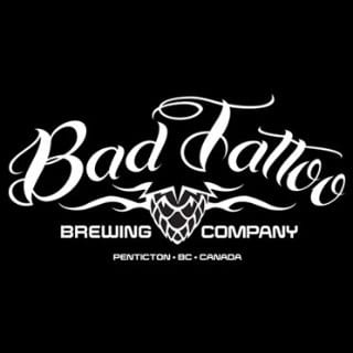 microbreweries logo bad tattoo brewing penticton british columbia canada ulocal local products local purchase local produce locavore tourist