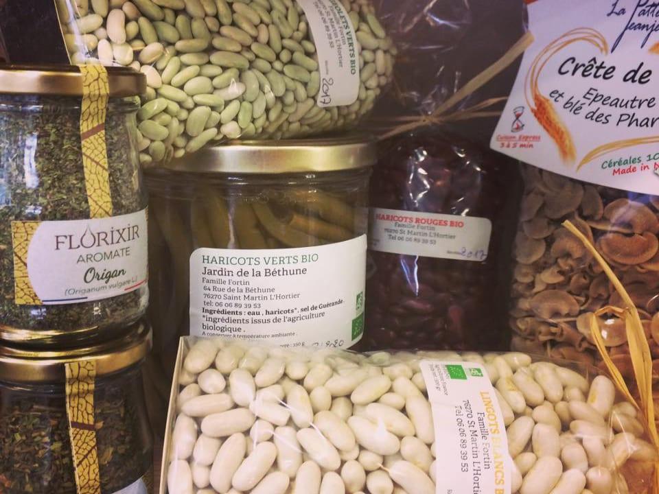 Épicerie alimentation écologiques biologiques Le Producteur Local - Bois Guillaume Normandie France Ulocal produit local achat local produit terroir
