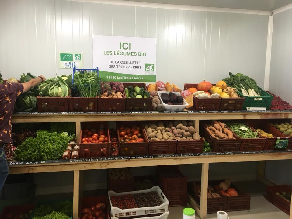 Organic ecological grocery grocery The local producer - Caen Normandy France Ulocal local product purchase terroir