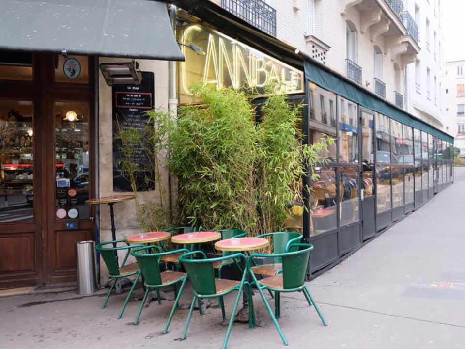Food restaurant Cannibale Café Paris France Ulocal local product local purchase local product