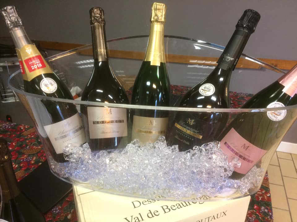 Vignoble champagne alcool Champagne Moutaux Bligny France Ulocal produit local achat local