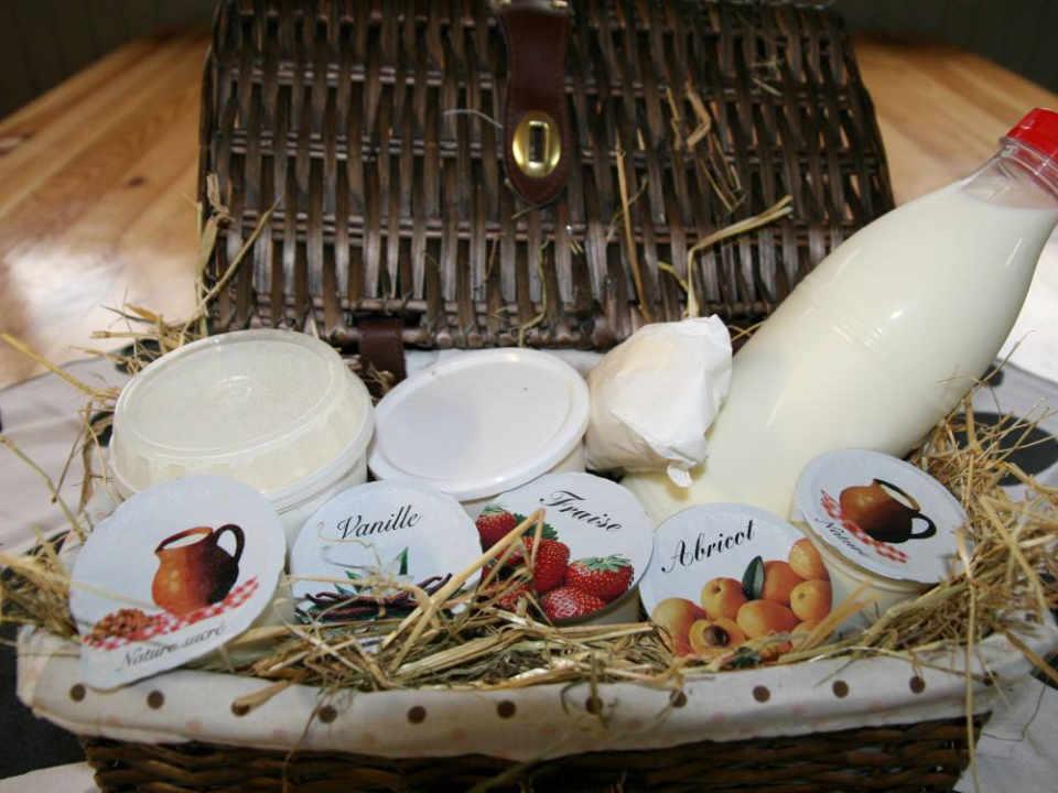 Ferme laitière alimentation lait yogourt Ferme Pédagogique de la Marque Champ Sur Barse France Ulocal produit local achat local