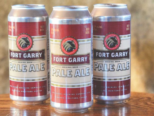 microbreweries 3 cans of craft beers fort garry brewing company winnipeg manitoba canada ulocal local products local purchase local produce locavore tourist