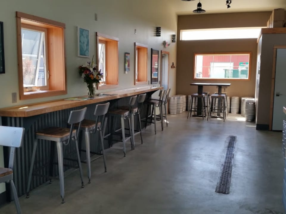 microbreweries tasting room ready to welcome guests grace ridge brewing co homer alaska united states ulocal local products local purchase local produce locavore tourist