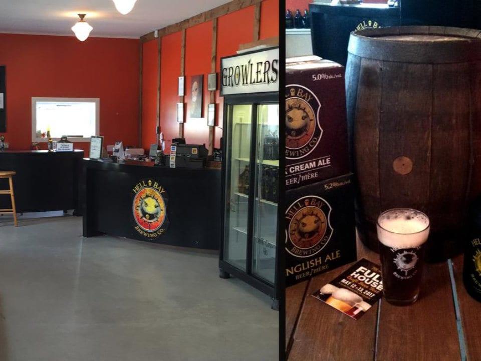 microbrasseries magasin boutique comptoir service bière en fût hell bay brewery liverpool nouvelle-écosse canada ulocal produits locaux achat local produits du terroir locavore touriste