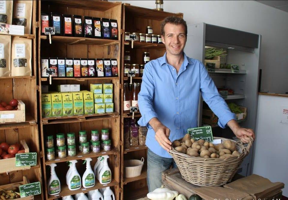 Restaurant alimentation biologiques La Table de Sylvain Brie-Comte-Robert France Ulocal produit local achat local produit terroir