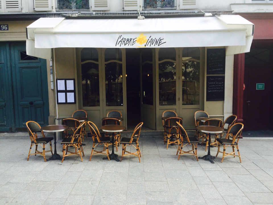 Food restaurant The Yellow Tree Paris France Ulocal local product local purchase local product