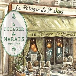 Restaurant biologiques végane écologiques Le Potager du Marais Paris Île-de-France Ulocal produit local achat local produit terroir