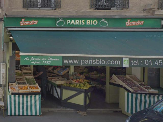 Organic fruit and vegetable market Paris Bio 14th Paris France Ulocal local product local purchase