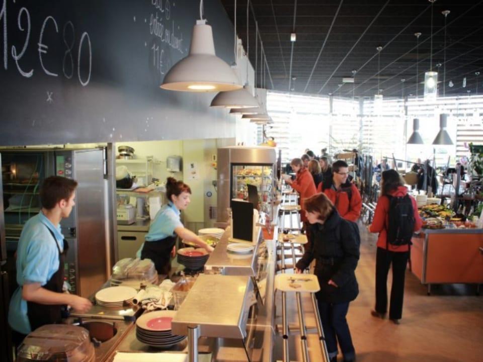 Restaurant biologique alimentation Pique Prune Rennes Bretagne France Ulocal produit local achat local produit du terroir