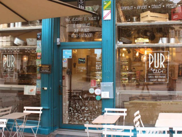 PUR food restaurant etc - STRASBOURG - Place Saint Étienne France Organic biology Ulocal local product local purchase